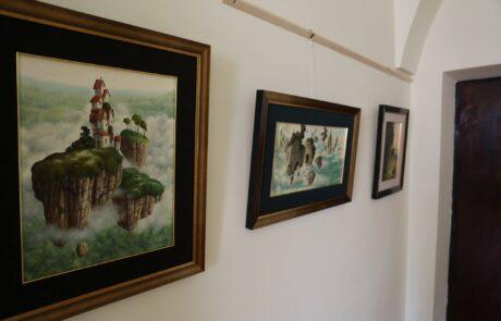 """Jacek Szynkarczuk - Wystawa indywidualna """"Światy"""" Zamość 2016 - zdjęcie 2"""
