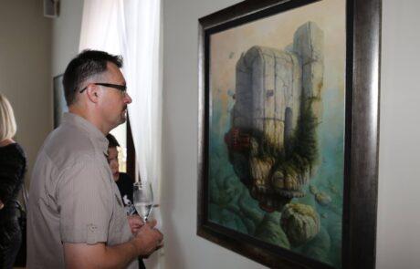 """Jacek Szynkarczuk - Wystawa indywidualna """"Światy"""" Zamość 2016 - zdjęcie 7"""