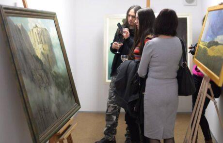 """Jacek Szynkarczuk - Wystawa """"Trzy wzgórza"""" Wodzisław Śląski 2016 - zdjęcie 8"""