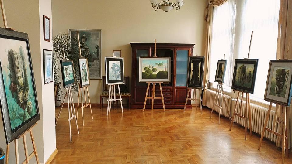 """Jacek Szynkarczuk - wystawa """"Noc Muzeów"""" Wejherowo 2016"""