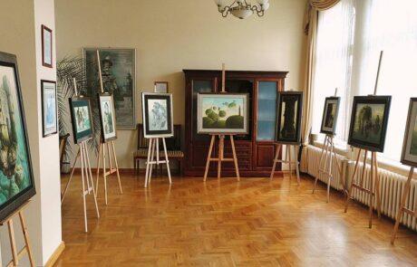 """Jacek Szynkarczuk - Wystawa """"Noc Muzeów"""" Wejherowo 2016 - zdjęcie 1"""