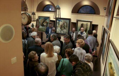 """Jacek Szynkarczuk - wystawa """"Wieża sztuki"""" Kielce 2018 - zdjęcie 4"""