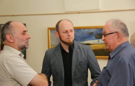 """Jacek Szynkarczuk - Wystawa indywidualna """"Światy"""" Zamość 2016 - zdjęcie 4"""