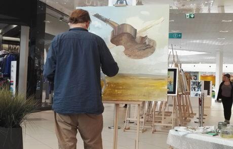 """Jacek Szynkarczuk - Wystawa """"Noc Muzeów"""" Katowice 2016 - zdjęcie 7"""