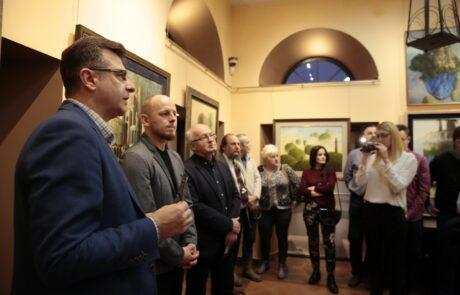 """Jacek Szynkarczuk - wystawa """"Wieża sztuki"""" Kielce 2018 - zdjęcie 6"""