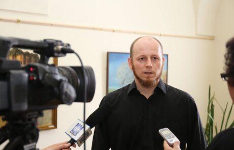 """Jacek Szynkarczuk - Wystawa indywidualna """"Światy"""" Zamość 2016 - zdjęcie 1"""