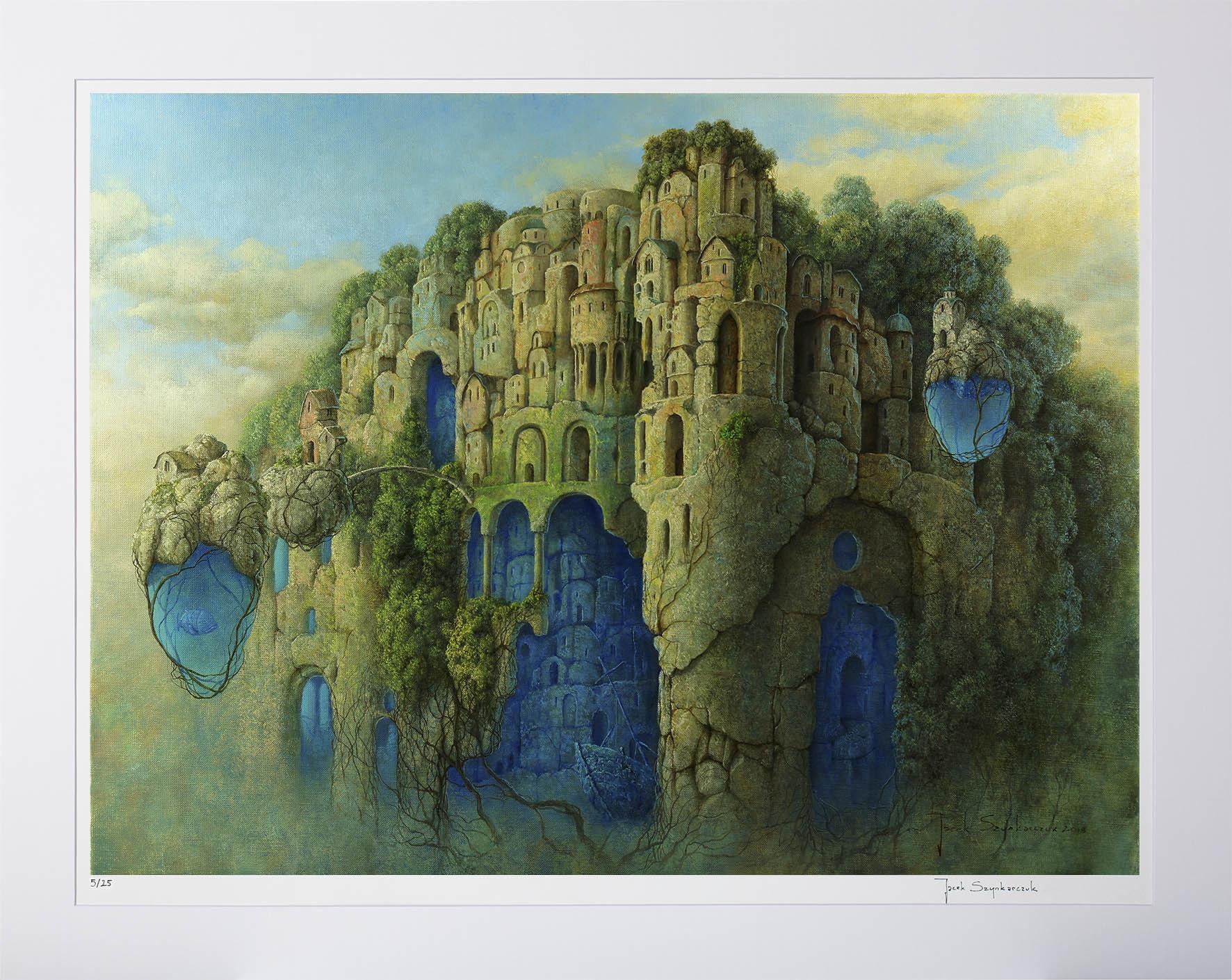Jacek Szynkarczuk - Aquapolis - inkografia bez oprawy