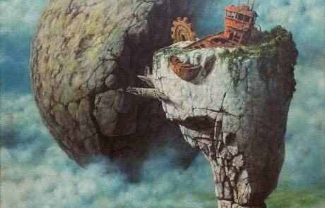 Jacek Szynkarczuk - Półksiężyc i tajemnicza wyspa