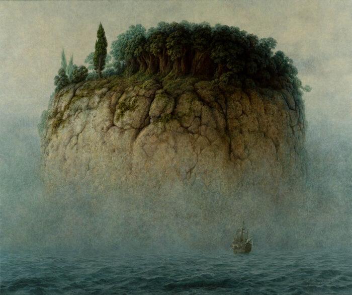 Jacek Szynkarczuk - Podróż na wyspę mgieł