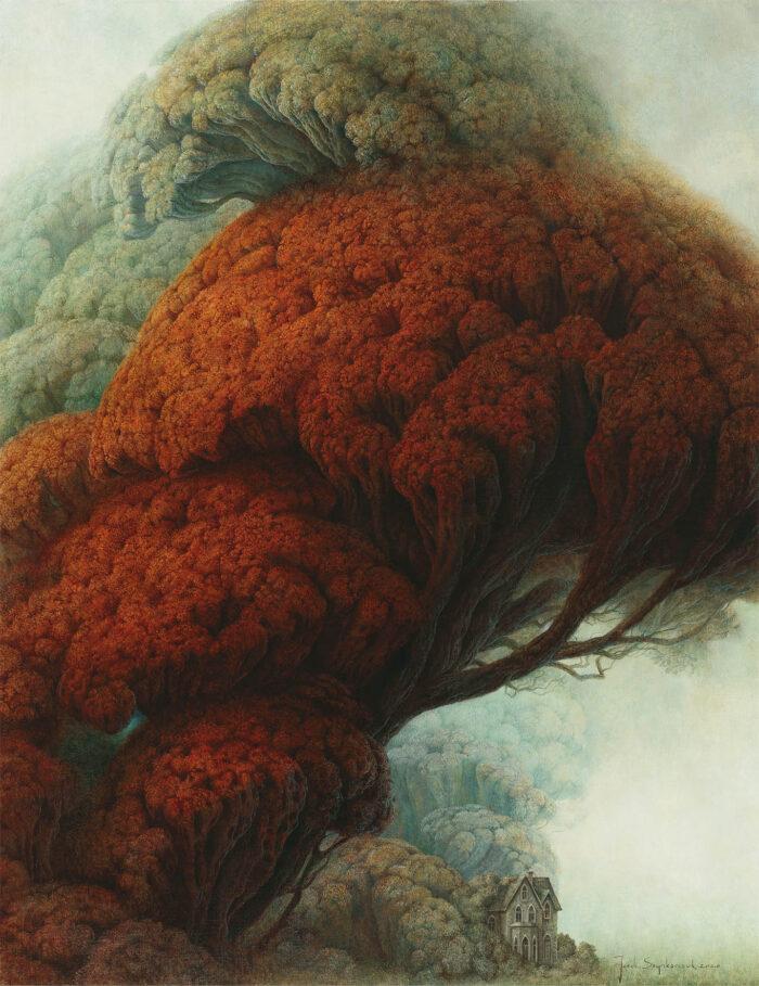 Jacek Szynkarczuk - Dom pod czerwonym drzewem