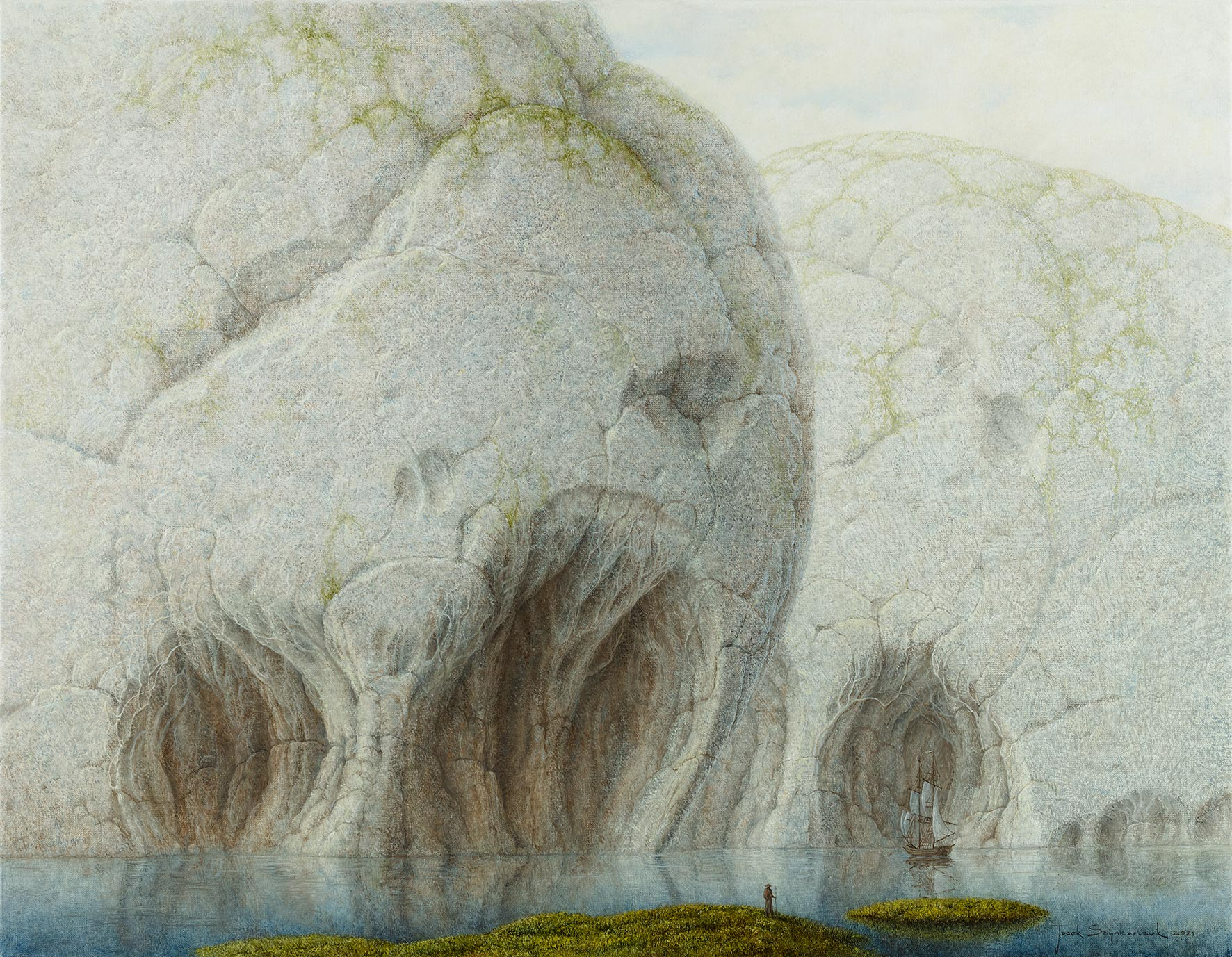 Jacek Szynkarczuk - Przystań kamienny las